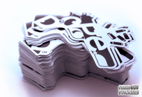 Dope - Die Cut Stickers