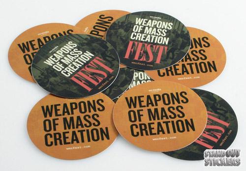 """3"""" Round Stickers"""