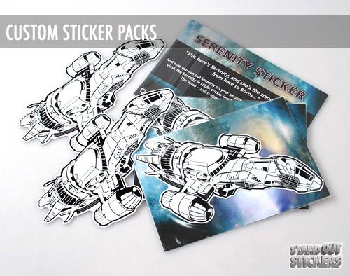 Serenity Sticker Packs