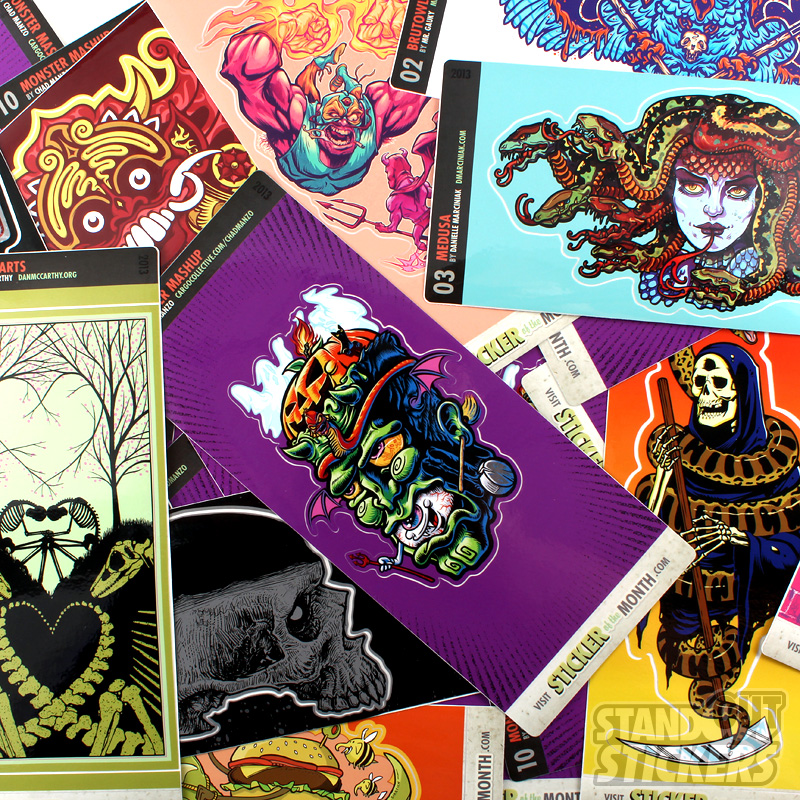 Chad Manzo Collectable Art Sticker of the Month