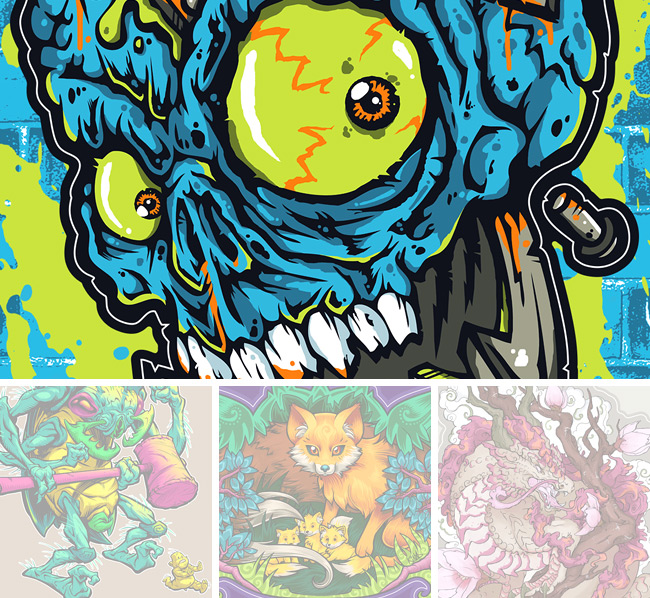 kyle crawford, electric zombie, jared moraitis, beast pop, kina forney, sixth leaf clover