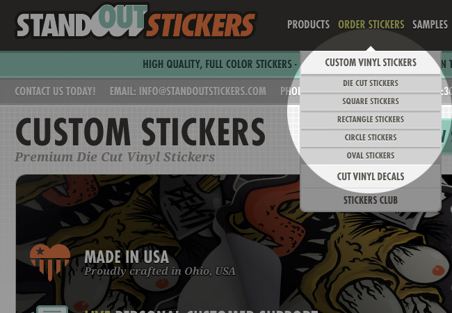 Review Custom Stickers