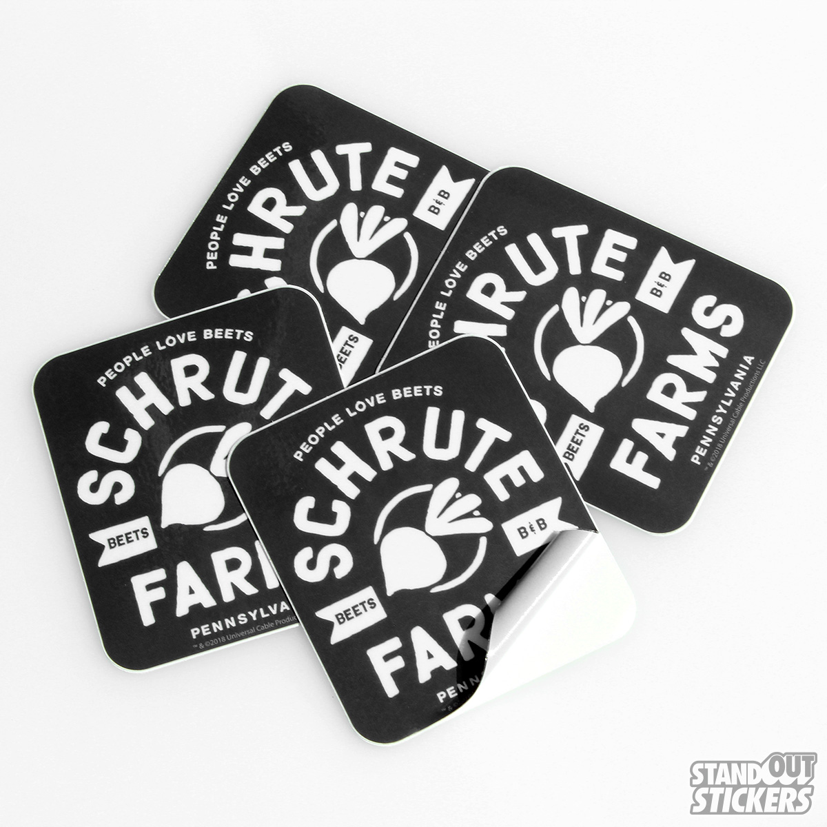 The Office NBC Official Merchandise Schrute Farms Stickers