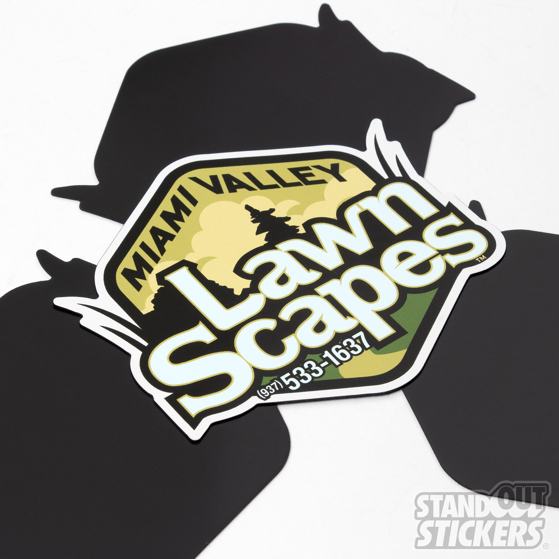 Die Cut Magnets for Miami Valley Lawn Scapes