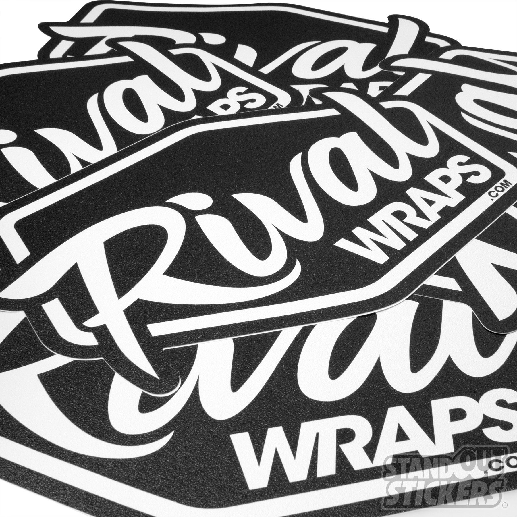 Rival Wraps Die Cut Floor Decals