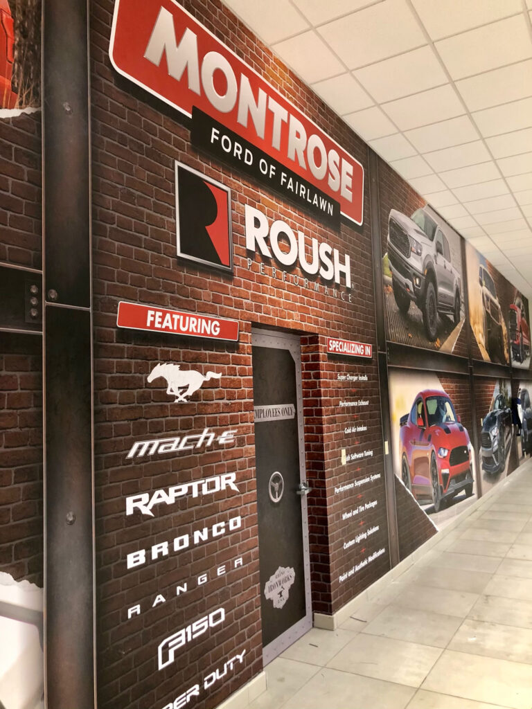Montrose Ford Fairlawn Custom Wall Graphic