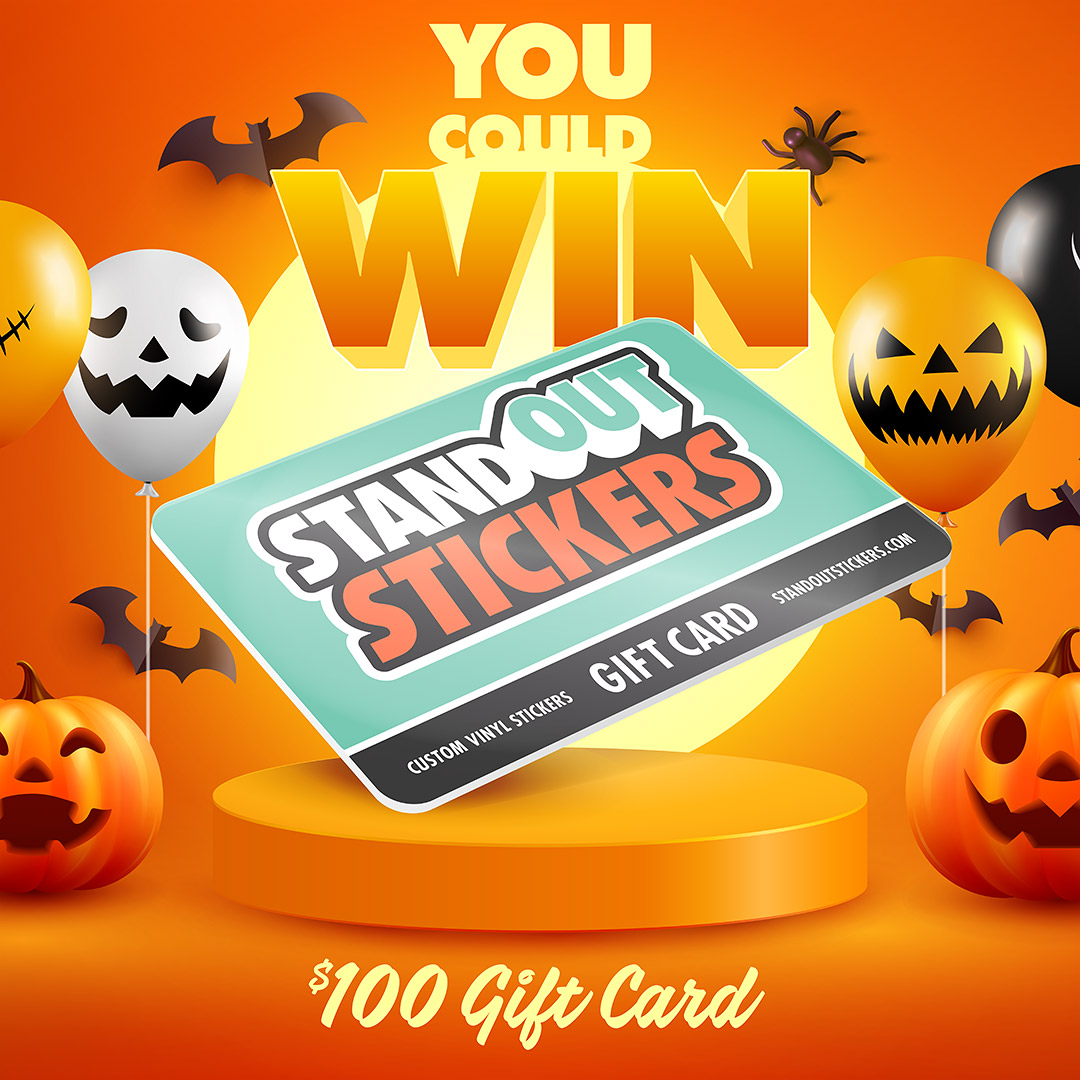 Win a $100 StandOut Stickers Gift Card
